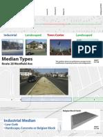 Westfield Avenue Center Island Diagram