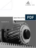 Rack and Pinion Drive Unite1009