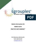 Sgrouples Press Kit - March.2014