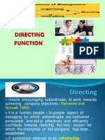 Directing Function