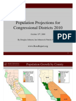2010 Census Congressional Reapportionment Presentation