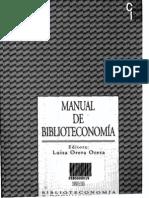 Manual de Biblioteconomia.luisa Orera Orera1