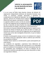 180314 Freedom Alert Dario Ramirez