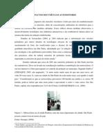 Texto de apoio - Impactos dos veículos automotores