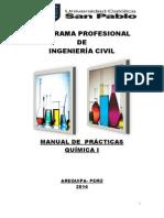 Manual Química I Final. Ing. Civil