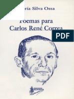 Poemas para Carlos René Correa