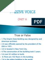 Unit 11 Passive Voice