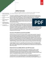 Acrobat Xi PDF Accessibility Overview