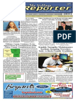 The Village Reporter - March 19th, 2014