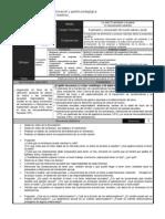 plan de clase y evaluación