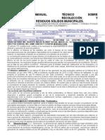 Manual Tecnico Recoger Basura