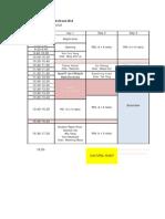 Conf Schedule