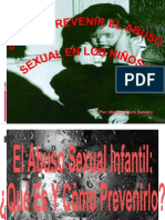 Abuso sexual en niños