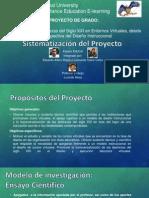 Sistematización Proyecto De Grado