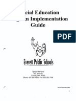 ESD Special Education Program Implementation Guide