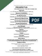 Provident PMF1S1 Prospectus SEC Final
