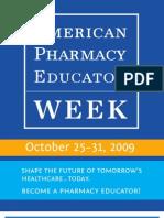 American Pharmacy Educator Week