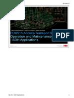 08-1 SDH Applications