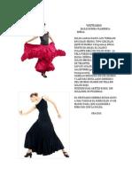 Vestuario Rumba Flamenca