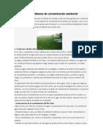 Sullana y sus problemas de contaminación ambiental
