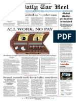 The Daily Tar Heel for March 19, 2014