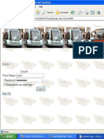 PROJECT REPORT Travel Management.doc