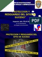 PONENCIA PROTECCION Y RESGUARDO ESCENA DEL CRIMEN 2009-2.ppt