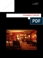 Feasibility Report of Restaurant