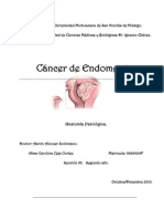 ANATOMIA PATOLOGICA. CANCER DE ENDOMETRIO. Alma Carolina Ceja Cortez. Seccion 03. Segundo año.