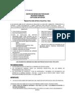 Requisitos Pasantia y Tesis 2014