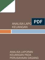 Contoh Analisa Laporan Keuangan