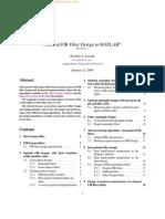 ebook practical fir filter design in matlab