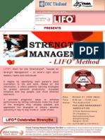 LIFO Strength Management