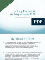 Elementos y Elaboracion Programa Eps