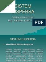 Sistem Dispersa