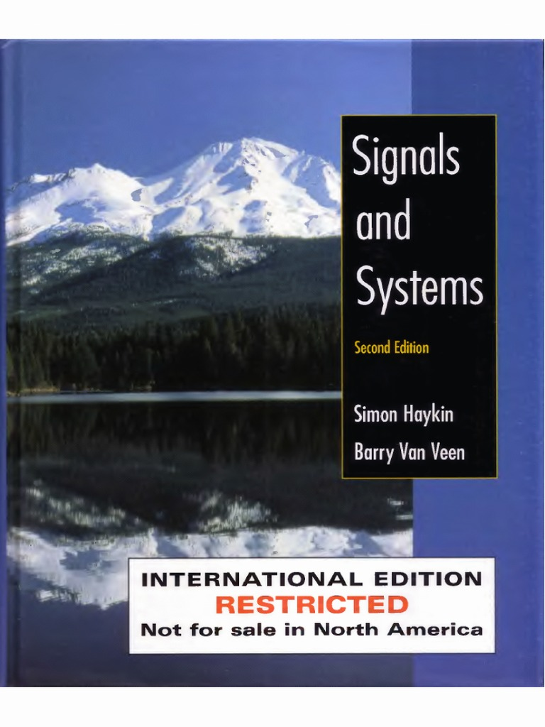Signals And System Simon Haykins Solution Manual