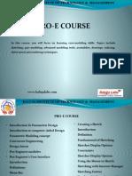 PRO E Course