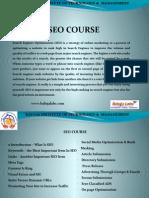 SEO Course