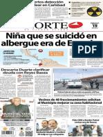 Periódico Norte de Ciudad Juárez edición impresa del 19 marzo del 2014