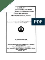 10a. Laporan Inventarisasi Endapan Besi Primer Di Kabupaten Kotawaringin Barat Dan Kabupaten Lamandau, Propinsi Kalimanta~1
