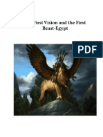 The First Vision and First Beast -Egypt