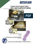 Liquid Limit Method