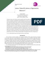 Debt Rating Initiations_ Natural Evolution or Opportunistic Behavior
