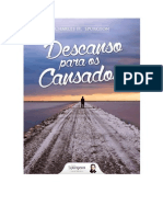 Descanso Para Os Cansados - C. H. Spurgeon
