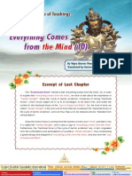 Lake of Lotus (38)-The Essence of Teachings-Everything Comes From the Mind(10)-By Vajra Master Pema Lhadren -Dudjom Buddhist Association