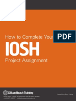Iosh managing safely completed project example.