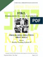 Programma Didattico Kravmaga Fikl