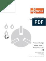 Busch vacuum pump