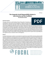 Policy Paper Document de Politique Documento de PolÍtica