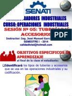 OPERACIONES INDUSTRIALES - SESIÓN 03 TUBERÍAS Y ACCESORIOS